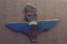 Military Enamel Queens Crown Pin Badge - Parachute Regiment ?