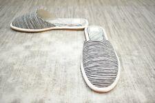 **Dolce Vita Hai Mule Comfort Slip On Shoe, Women's Size 8.5, Black Stripe NEW