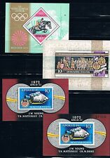 Hungría conjunto de 8 Hojas Bloques diferentes y nuevas. Valor de catalogo 160