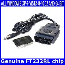 Cable Usb De Auto Herramienta de diagnóstico KKL VAG-com 409.1 OBD2 II OBD VW/Audi/Seat/SKODA