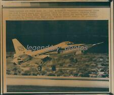 1985 X-29 Experimental Plane Takes Off Original Wirephoto