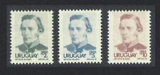 Uruguay Artigas Definitives 3v the Highest Values MNH SG#1649-1651a