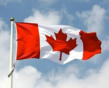 Canadian Flag High Quality Nylon Flag 2 Metal Grommets, 5' x 3'