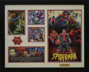 The Amazing Spider Man Marvel Comics Limited Edition Framed Memorabilia (w)