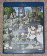 Log Horizon: Complete Collection Blu-ray 6-Disc Set Brand New
