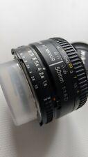 Nikon 50mm F1.8 D Autofocus Prime Nikkor Lens sold with Front & Rear Lens Caps