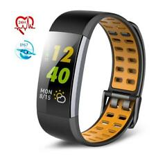 TECKEPIC Fitness Tracker Color Screen Activity Tracker Heart Rate Monitor