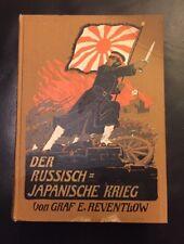 Le Comte E. Reventlow-la russe Japonais Guerre