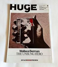 WALLACE BERMAN SPECIAL Huge Japan Magazine Sep-2011 UK Dub Adrian Sherwood