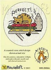 Mouseloft Mini Cross Stitch Kit   Biscuit the cat Collection - Perfect! (warm i
