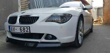 Splitter for BMW E63 E64 Front Bumper M Sport lip chin Performance skirt valance