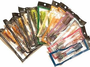 12 Hard Candy LolliTips Hookah Hand Dipped Mouth Lolli-Tips Mix Flavors Tips