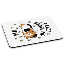 Crazy Guinea Pig Man Stars PC Computer Mouse Mat Pad - Funny Animal