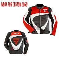 """REVOKO"" Motorbike Riders Leather Jacket - Revoko Motorcycle Riding Jacket"