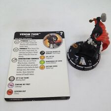 Heroclix Marvel's What If? set Venom Thor #049 Chase figure w/card!