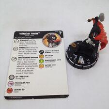 Heroclix Marvel's What If? set Venom Thor #049 Chase figure w/card!