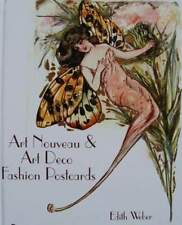 BOEK/BOOK/LIVRE/BUCH  ART NOUVEAU & ART DECO FASHION POSTCARDS/CP/MODE POSTKAART