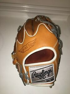 """NEW Rawlings PROR204W-2T WING TIP Heart of the Hide Baseball Glove 11.5"""""""