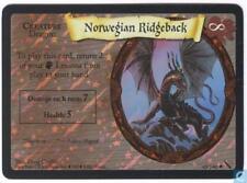 Harry Potter TCG Chamber of Secrets Norwegian Ridgeback FOIL 40/140