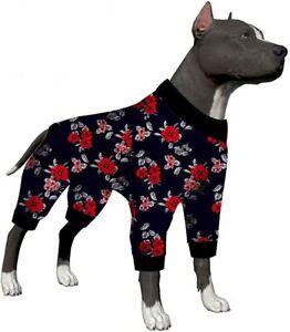 LovinPet Pet Pajamas Dogs Large/Lightweight Big Dogs Pullover/Dog Shirt Large
