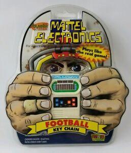 Mattel Electronics Football Key Chain 2001 Brand New