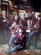 BTS Bangtan Boys SK Telecom Official promotion Poster Bromide Type B- Big