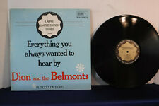 Dion/Belmonts, Everything You Always Wanted To Hear but Couldn't,Laurie LES 4002