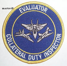 US.Navy `COLLATERAL EVALUATOR`  Cloth Badge / Patch (S20)