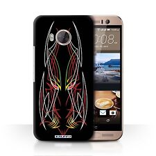 STUFF4 Back Case/Cover/Skin for HTC One ME/Tribal Pinstripe