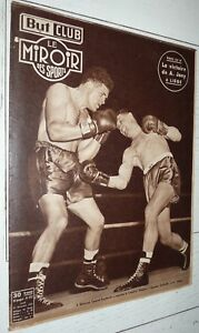 BUT & CLUB MIROIR SPORTS #327 1951 FOOTBALL BARATTE LILLE BOXE DAUTHUILLE JUDO