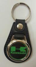 KAWASAKI Logo Medallion Keyring, Brand New