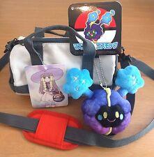 Pokemon Center Japan - Lillie Drum Bag Pouch - Cosmog Mascot Plush - Set Nebby
