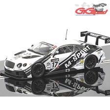 NEW SCALEXTRIC 1:32 BENTLEY CONTINENTAL GT3 BRITISH GT 2014 SLOT CAR C3595 DPR