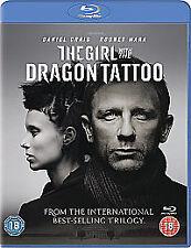 "NEW ""The Girl With the Dragon Tattoo"" Blu-ray (2012) Daniel Craig - FREE P&P!"