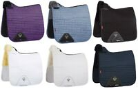 LeMieux Pro Lambswool Merino+ Half Lined DRESSAGE SQUARE Saddlecloth All Colours