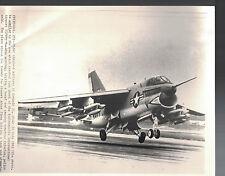 A7 Corsair II Plane Crash in Indianapolis AP Laserphoto