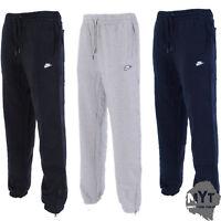 Nike Mens Fleece Joggers HBR Ankle Zip Jogging Tracksuit Bottoms Sweatpants
