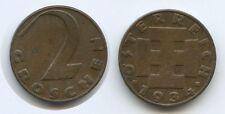 G4219 - Österreich 2 Groschen 1934 SEHR RAR KM#2837 1.Republik 1918-1938