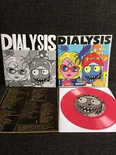 """Dialysis – Ludicrous Speed 7"""" LIMITED COVER Hex Records Hardcore Punk"""
