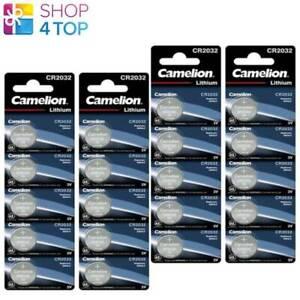 20 CAMELION CR2032 BATTERIES LITHIUM 3V COIN CELL CR2032-BP5 5BL EXP 2028 NEW