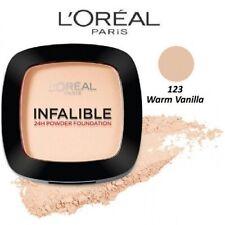 L'oréal Infallible 24h maquillaje y polvo compacto 123 Warm Vanilla loreal