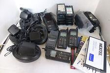 Motorola Nextel iden i370xl Phones Chargers Cases Instructions & VHS Bundle