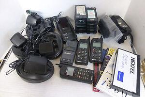 Motorola Nextel i370xl Phones Chargers Cases Instructions & VHS Bundle