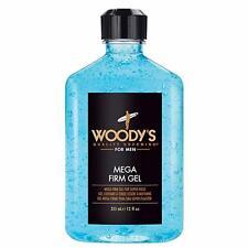 Woody's Mega Firm Hair Styling Gel for Men 12 fl oz / 355ml