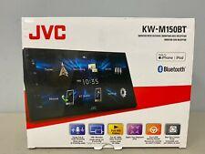 "JVC KW-M150BT Digital Media Bluetooth Receiver 6.8"" WVGA Capacitive Monitor NEW"
