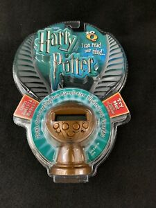 New! Harry Potter 20 Questions Golden Snitch 2007 Mattel Game