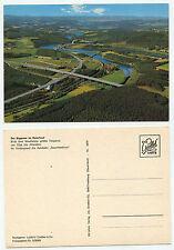 """26307 - Biggesee - Autobahn """"Sauerlandlinie"""" - Luftbild - alte Ansichtskarte"""