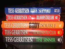 Tess Gerritsen Lot of 5 Hardcover with DJ Books