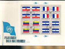 585327 / UNO FLAGGEN FDC