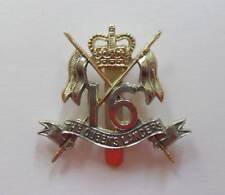 BRITISH ARMY CAP BADGE. THE 16th. QUEENS LANCERS.